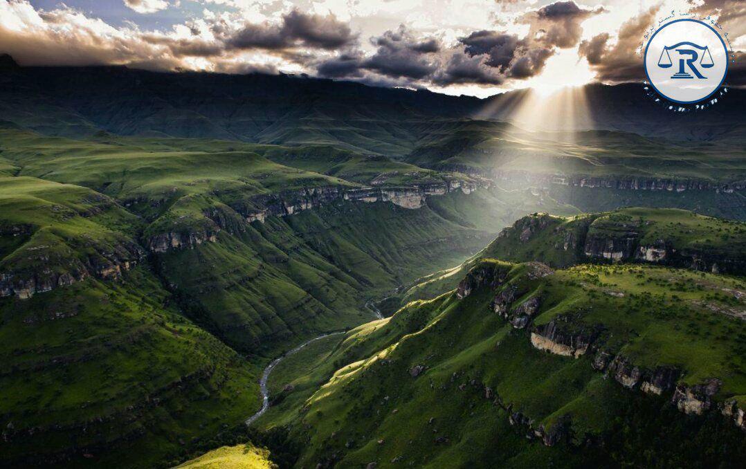 طبیعت بکر و زیبای آفریقای جنوبی