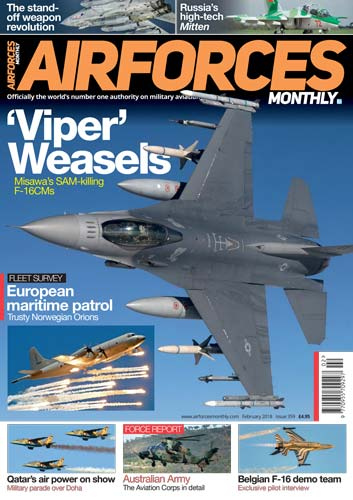 Airforces Monthly February 2018