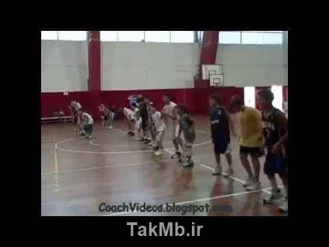 فیلم آموزش بسکتبال - Mini Basketball Training for children