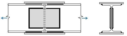 برنامه تحت اکسل طراحی وصله جوشی در تیرهای کششی-1