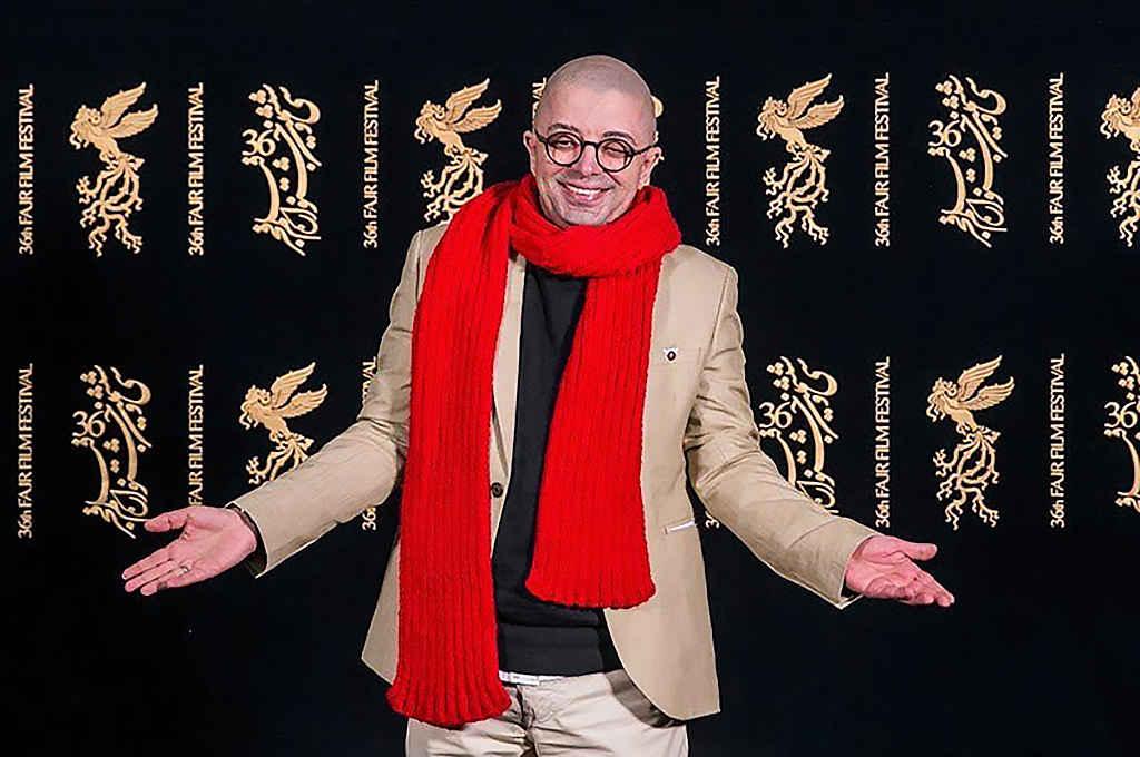 فرزین محدث بازیگر در جشنواره فیلم فجر