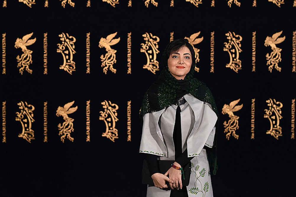 زیبا کرمعلی بازیگر در جشنواره فیلم فجر