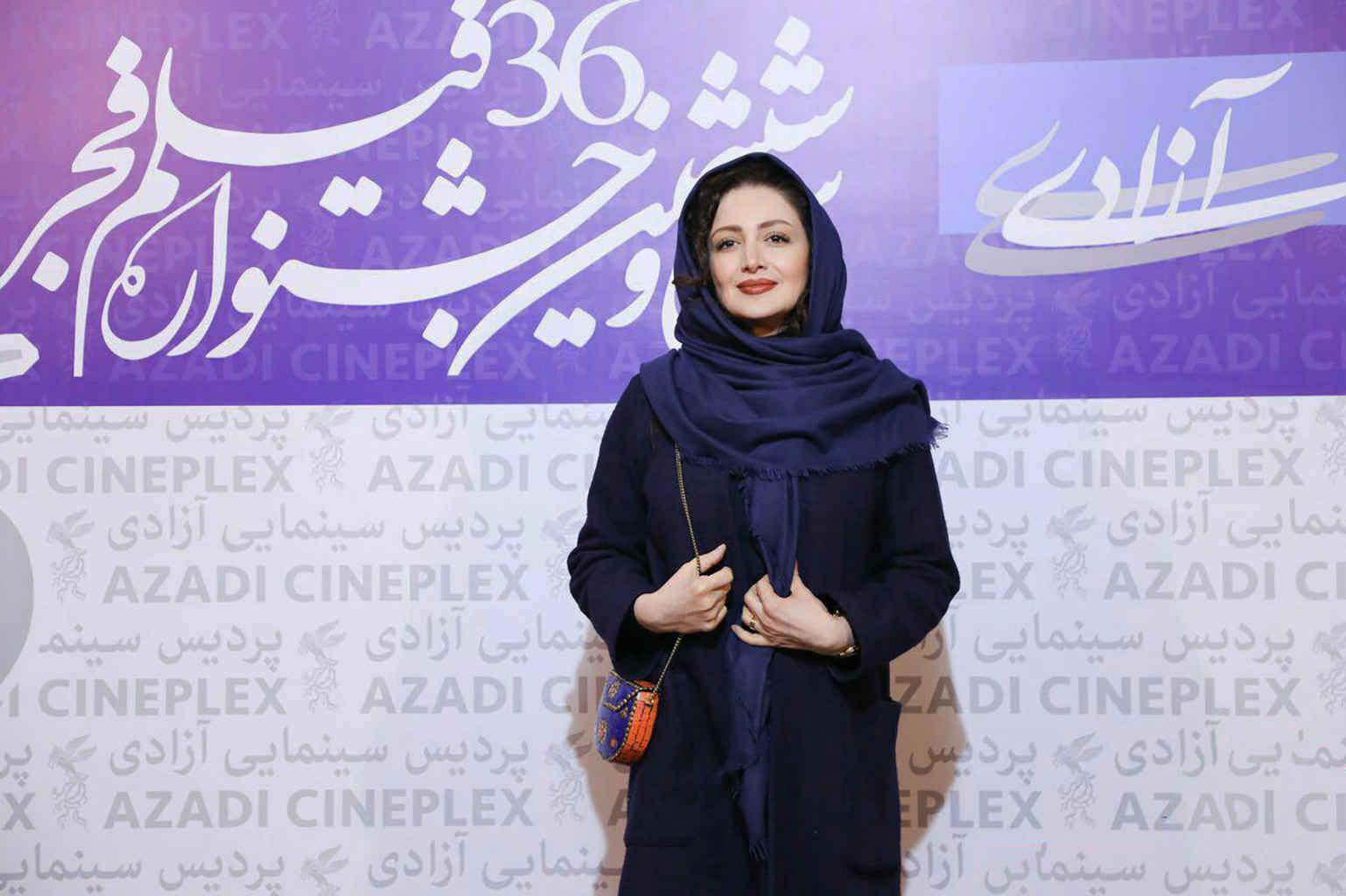 شیلا خداداد بازیگر گلشیفته در جشنواره فیلم فجر