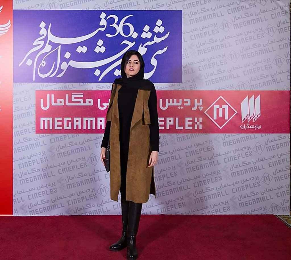 ماهور الوند بازیگر در جشنواره فیلم فجر چهارراه استانبول