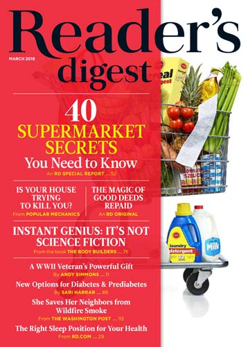 Readers Digest USA March 2018