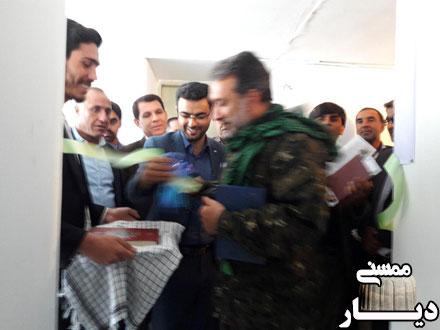 افتتاح کانون بسیج رسانه شهرستان ممسنی