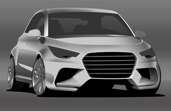 آموزش رندرینگ خودرو در فوتوشاپ