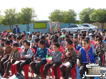 برگزاری جشن عاطفه ها در مدرسه شهید نجف گلستان
