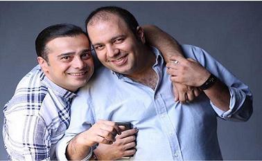 عکس دونفره سپند اميرسليماني و علي اوجي
