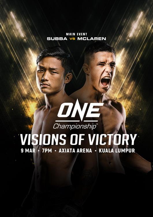 دانلود رو یداد ام ام ای | ONE Championship 69: Visions of Victory+تک مبارزه