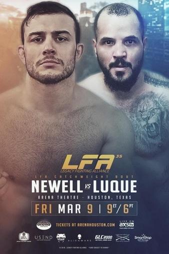 دانلود رو یداد ام ام ای | LFA 35 - Newell vs. Luque+تک مبارزه