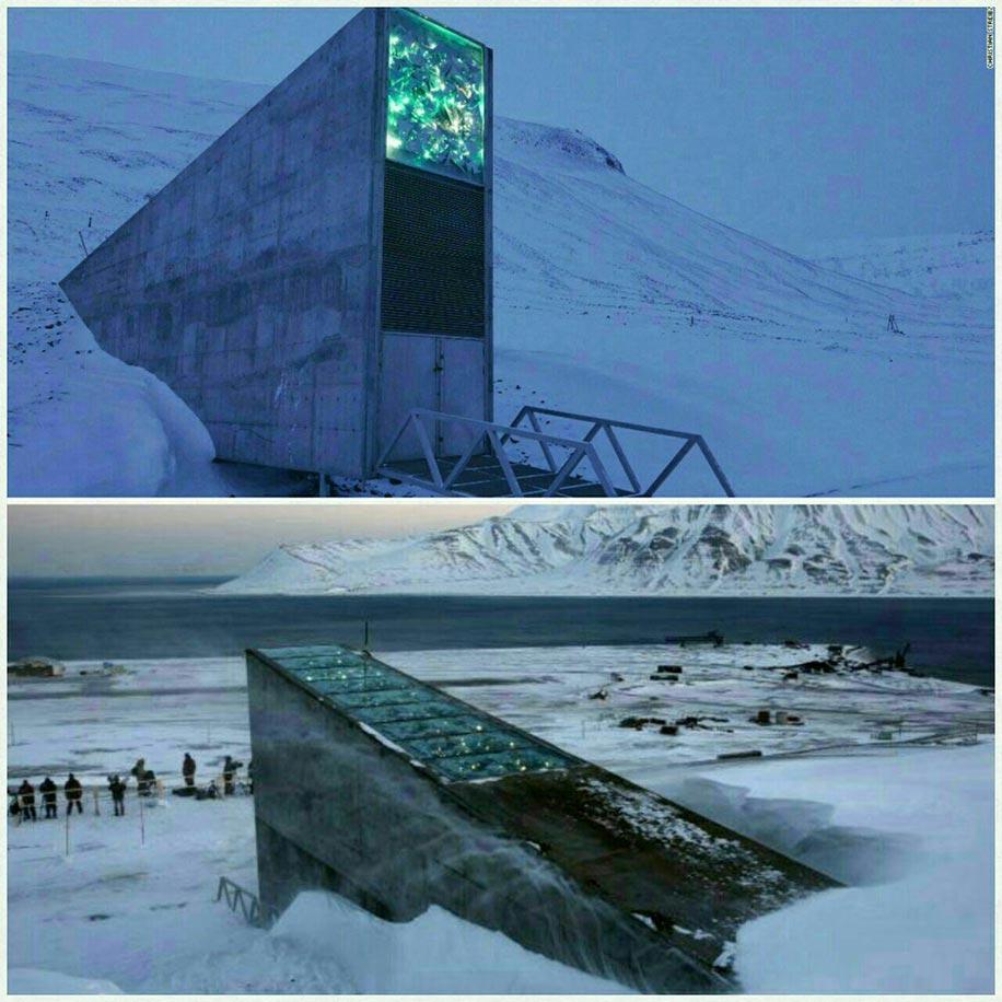 خزانه جهانی بذر سوالبارد Svalbard
