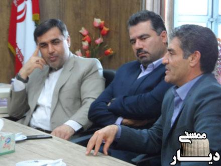 بازدید مدیرکل نوسازی و تجهیز مدارس فارس از مدارس نورآباد و خومه زار