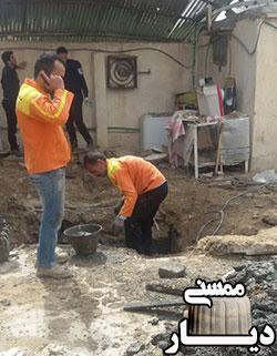 سه کشته در انفجار چاه فاضلاب در قلعه کهنه ممسنی