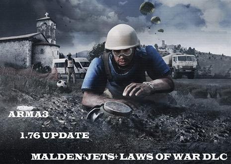 دانلود جدیدترین ورژن ARMA 1.76 + laws of war dlc