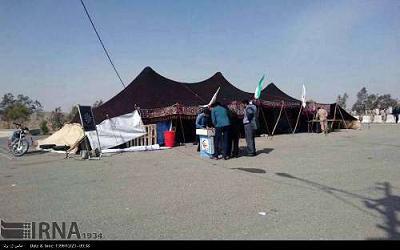 سياه چادرهاي خاش ويژه استقبال از گردشگران نوروزي