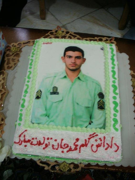 کیک تولد شهید دولت آبادی 1394
