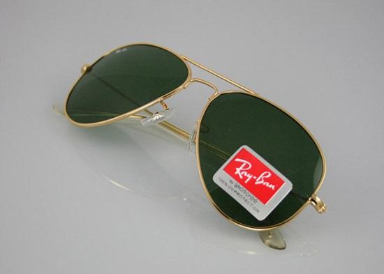 عینک ریبن طلایی برای صورت کوچک