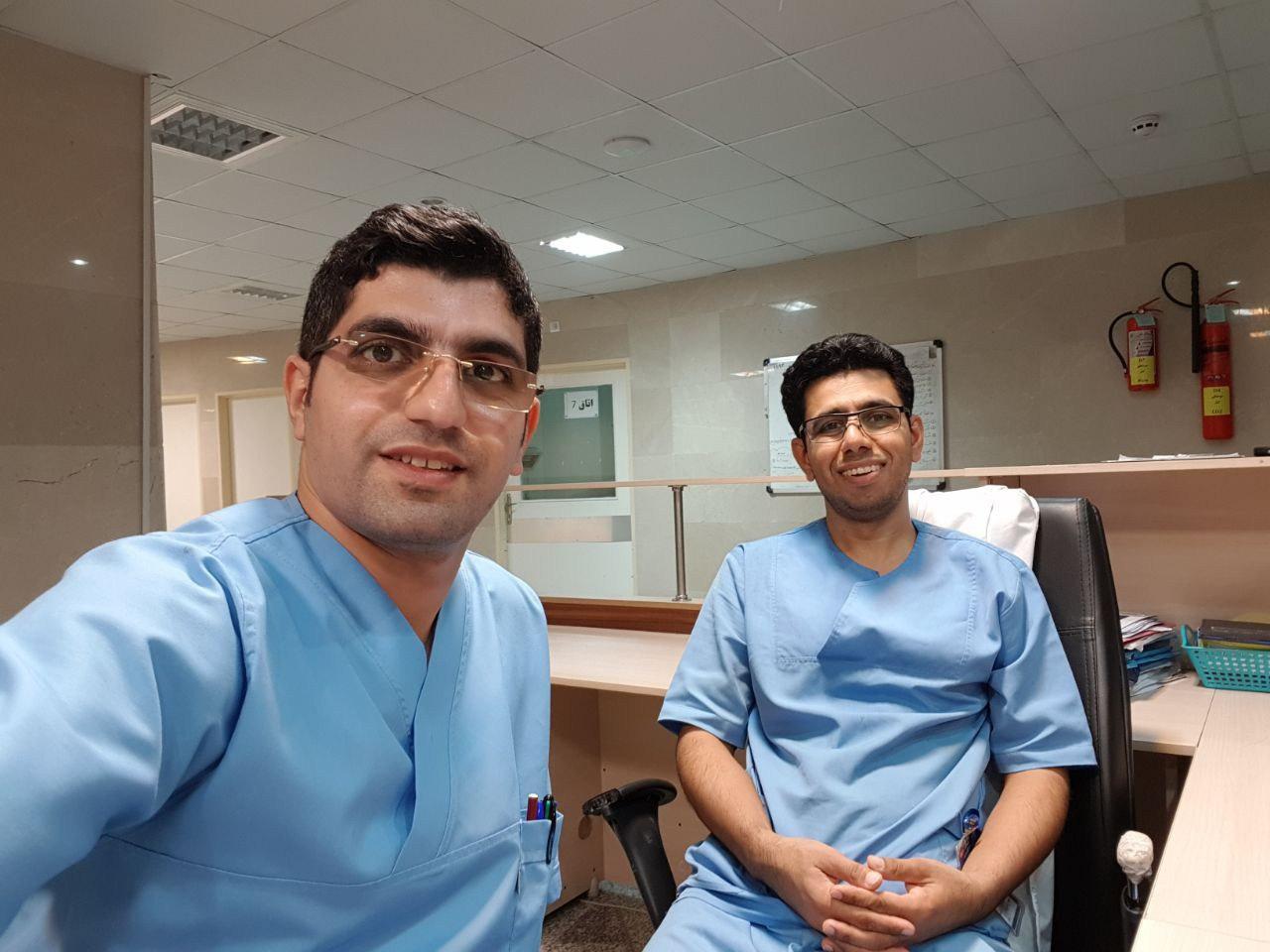 Nurses in ICU