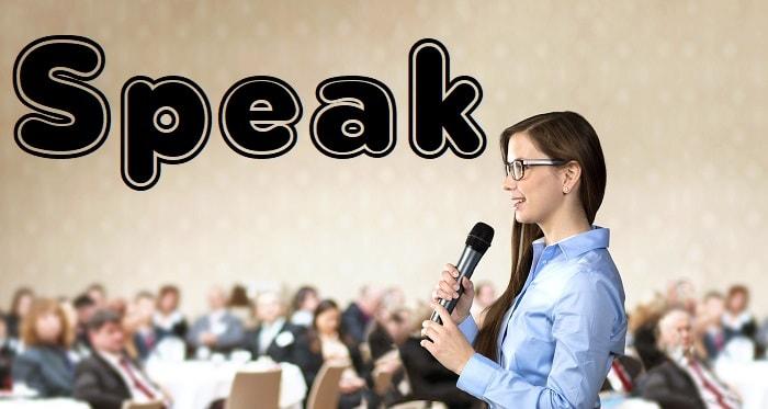 صحبت کردن - Speak
