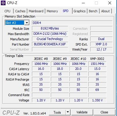 روش تشخیص چیپ ها در رم های DDR4
