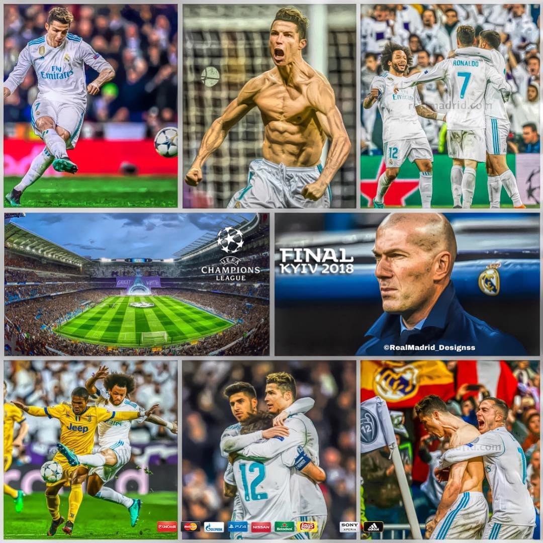گزارش تصویری بازی رئال مادرید - یوونتوس