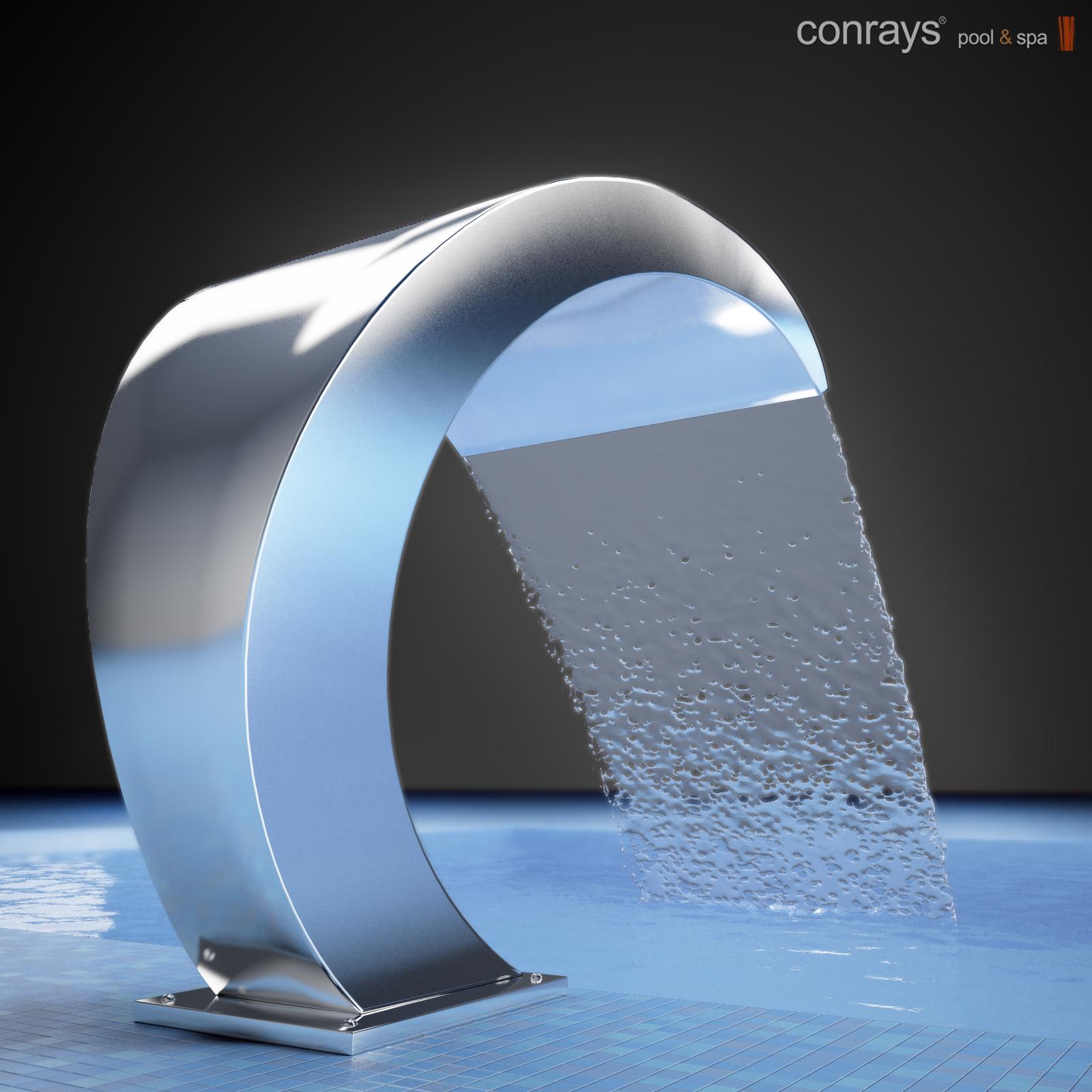 مدل سه بعدی آبنما