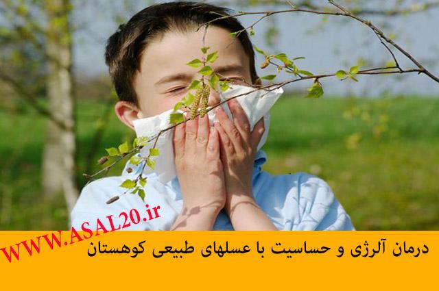 درمان طبیعی آلرژی با عسل طبیعی و درمانی کوهستان www.asal20.ir
