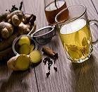 آب زنجبيل چه فوايدي دارد ، درمان ميگرن و سوزش معده