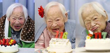 مسن ترين زن دنيا در 117 سالگي درگذشت