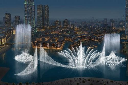 آب نمای مشهور دبی