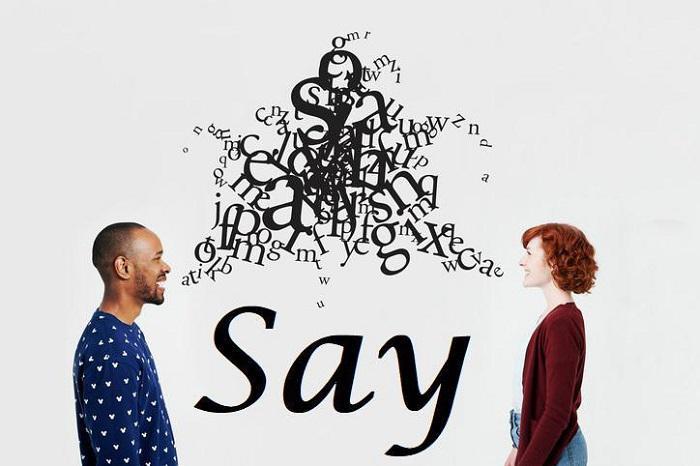 حرف زدن – Say