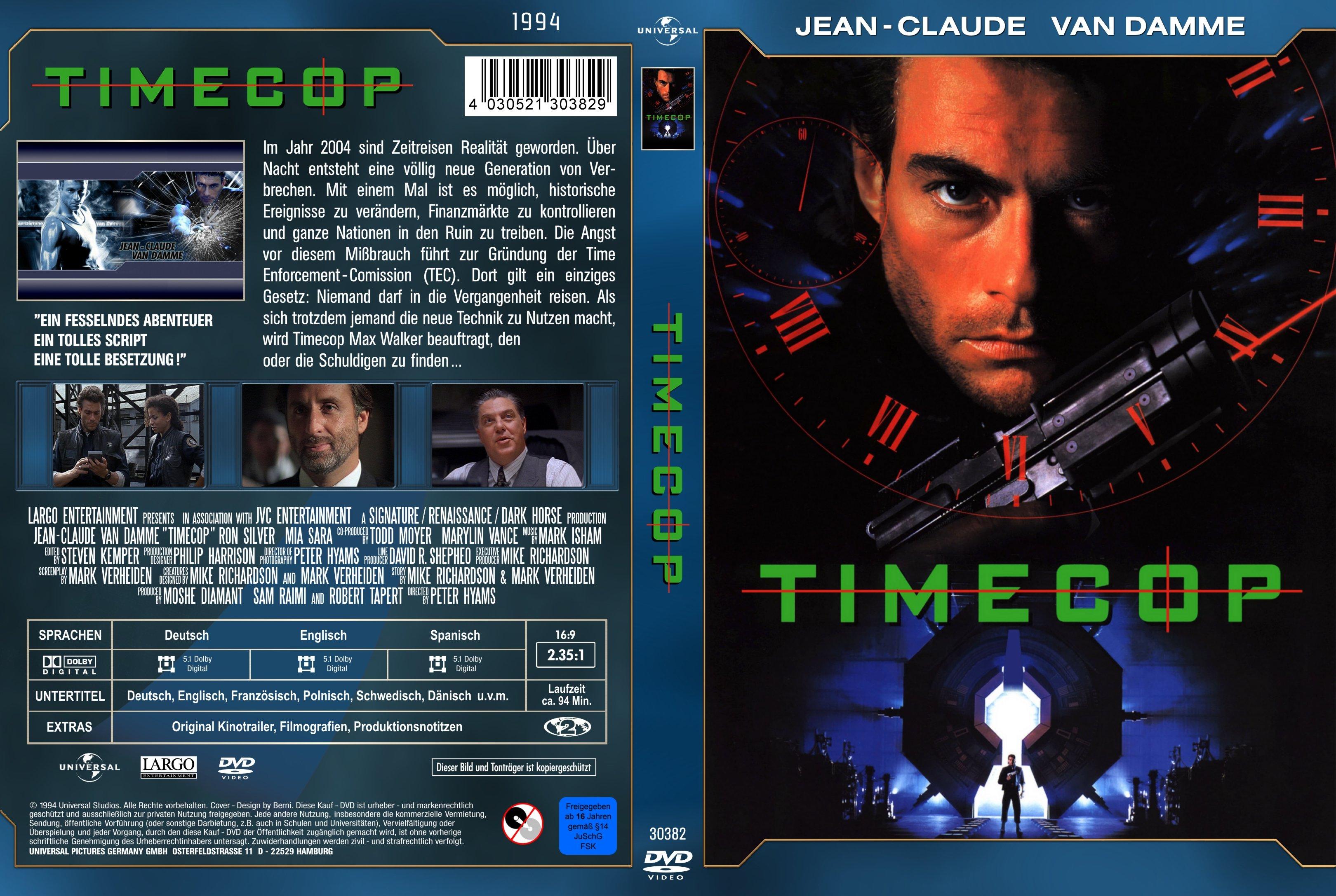 کاور فیلم Timecop