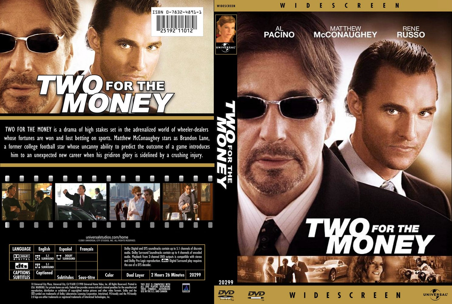 کاور فیلم Two for the Money
