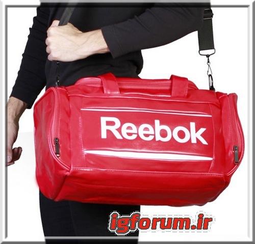 ساک ورزشي بدنسازی ريبوک ریباک مشکی قرمز