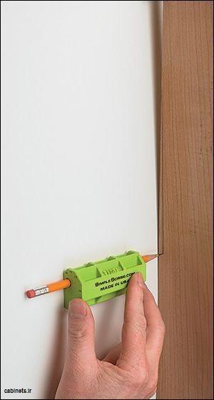 ابزار ساده برای تعیین برش کجی دیوار