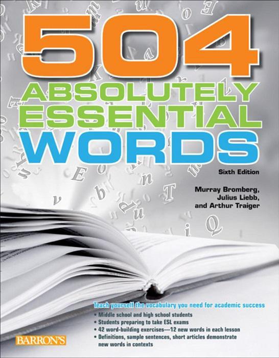 کتاب ۵۰۴ واژه ضروری زبان انگلیسی – ۵۰۴ Absolutely Essential Words