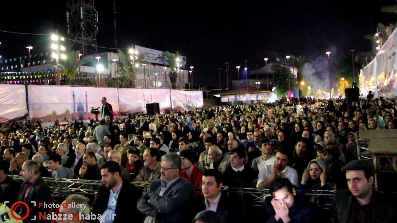 جشن بزرگ نیمه شعبان در پیاده راه فرهنگی رشت برگزار شد