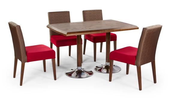 میز چوبی مستطیلی