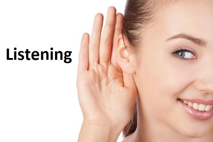 شنیدن – Listening