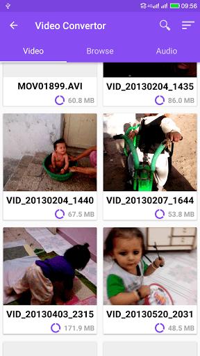 دانلود برنامه تبدیل فرمت فیلم Video Converter Pro 1.9 ویدیو کانورتر برای اندروید