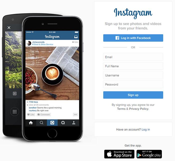 آموزش تصویری قراردادن عکس و فیلم در اینستاگرام بدون داشتن گوشی