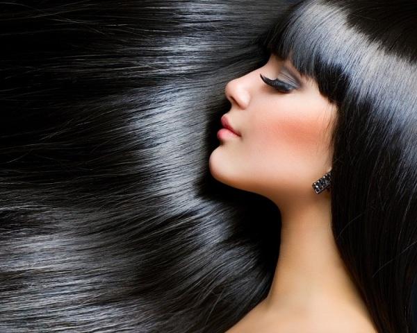 موی مشکی پرکلاغی سیاه موی صاف