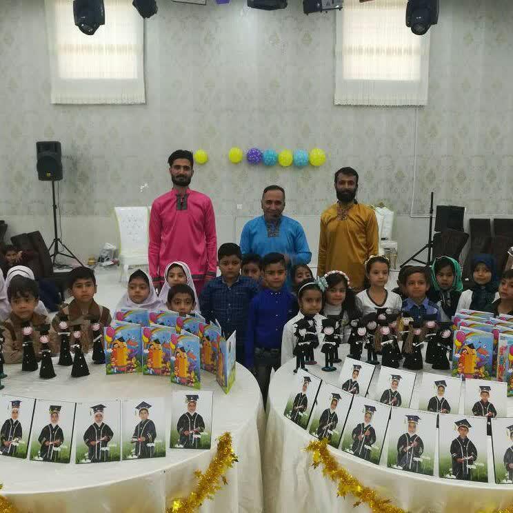 جشن  فارغ التحصیلی پیش دبستانیها در تالار بی بی  حسن آباد  صادق الائمه علیه السلام