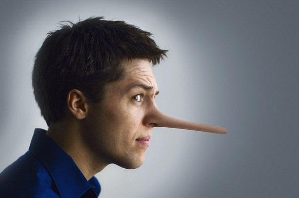 علت دروغ گفتن