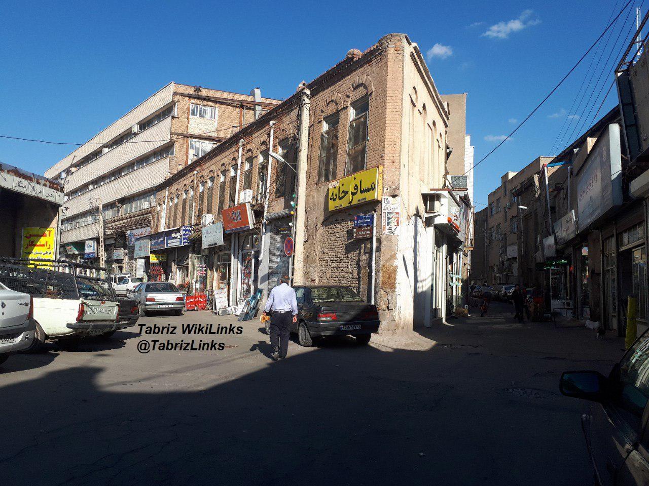 محلات قدیمی تبریز