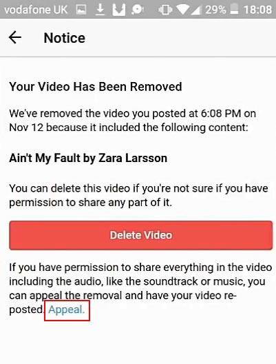 آموزش حل مشکل حذف ویدئو توسط اینستاگرام Instagram