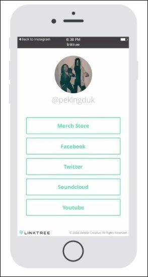 چگونه چندین لینک به Instagram Bio اضافه کنید