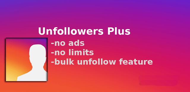 دانلود انفالویاب اینستاگرام برای اندروید Unfollowers Plus 1.4.0 انفالو پلاس