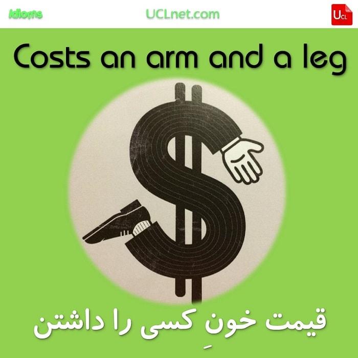 قیمت خون کسی را داشتن – Costs an arm and a leg – اصطلاحات زبان انگلیسی – English Idioms